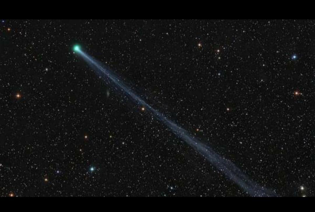 Esta noche el mejor momento para ver el cometa SWAN en todo su esplendor