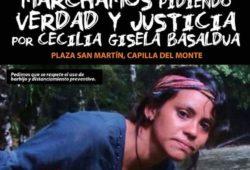 Nueva marcha para pedir justicia por Cecilia Basaldúa.