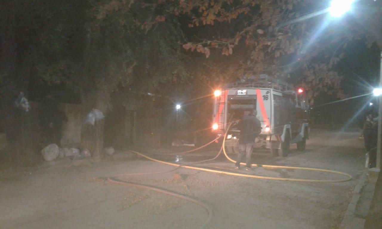 Capilla del Monte: Incendio en una vivienda