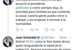 Córdoba en la fase 4 de la Cuarentena: Flexibilización y  el Mensaje del Gobernador