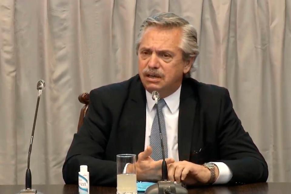 Coronavirus: Alberto Fernández anunció cuarentena estricta para el AMBA