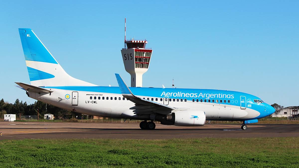 Aerolíneas Argentinas confirmó vuelos de cabotaje para agosto