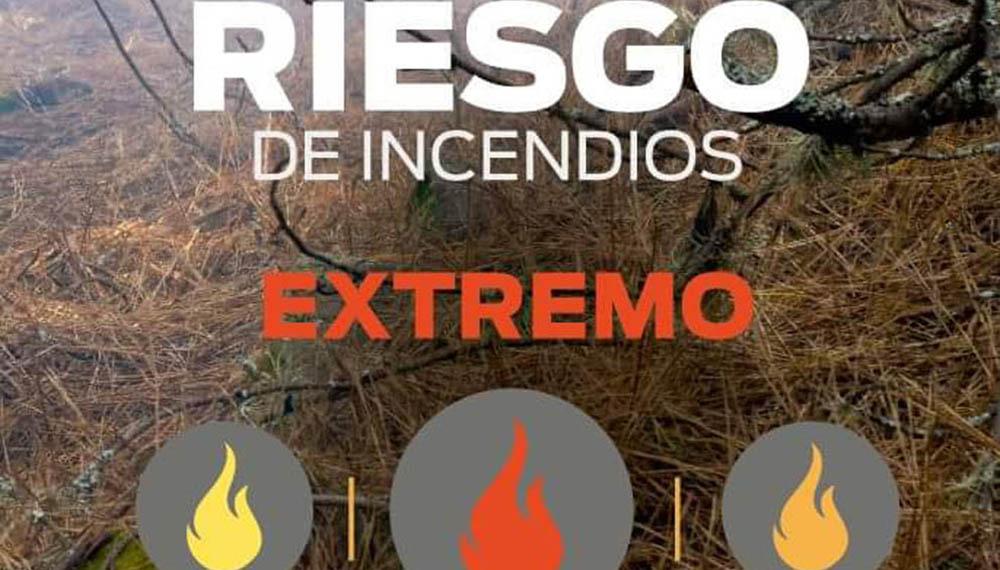 Situación de los incendios en la Provincia de Córdoba
