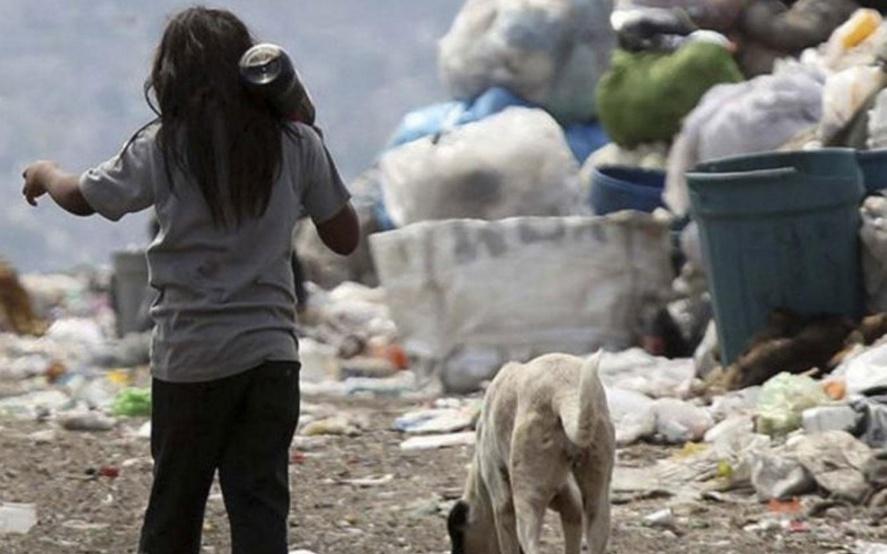 El 2020 terminará con casi 63% de menores pobres en el país