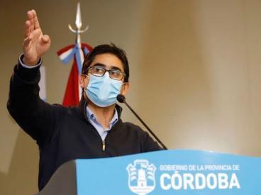 Cardozo: «No se evalúa retroceder de fase en Córdoba»