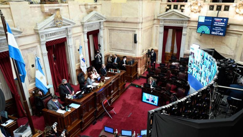 El Senado le dio media sanción al proyecto de Reforma Judicial
