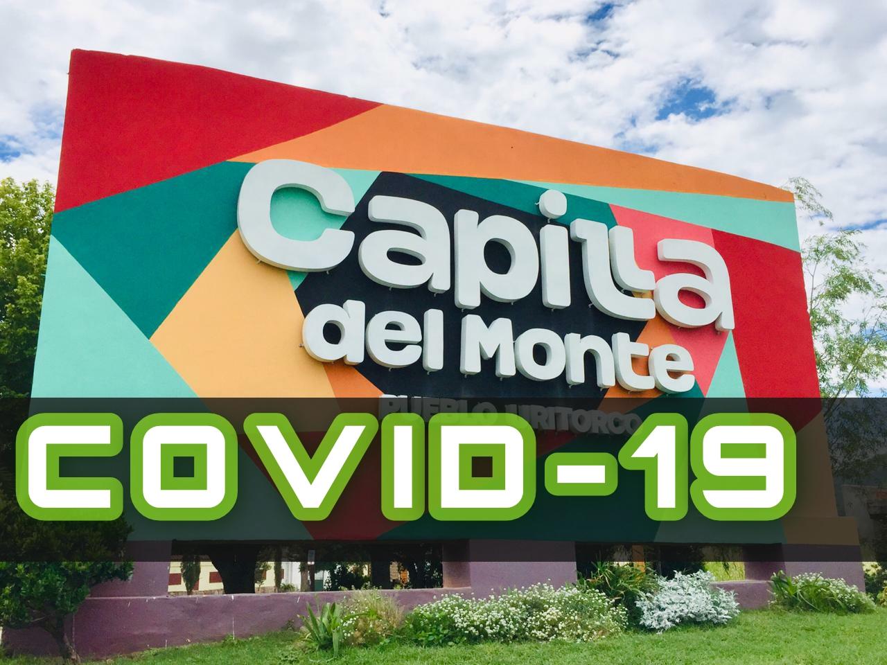 3 NUEVOS CASOS DE COVID -19 EN CAPILLA DEL MONTE