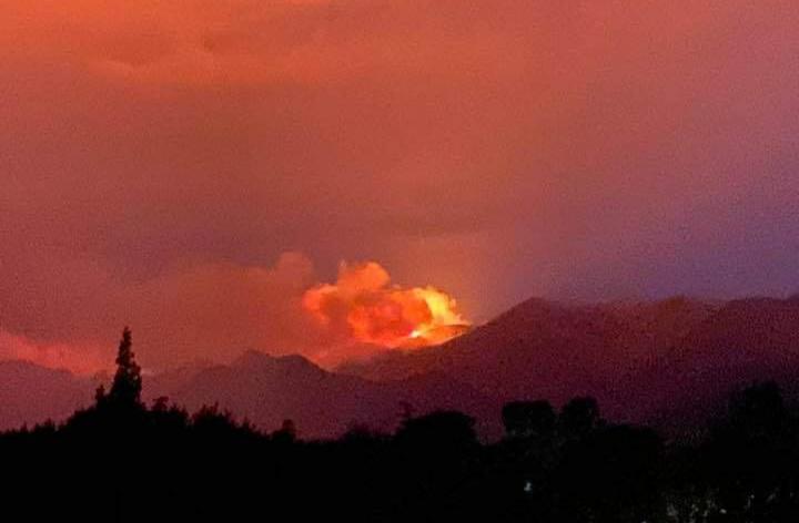 La lluvia trajo alivio y se contuvo el incendio en Capilla del Monte