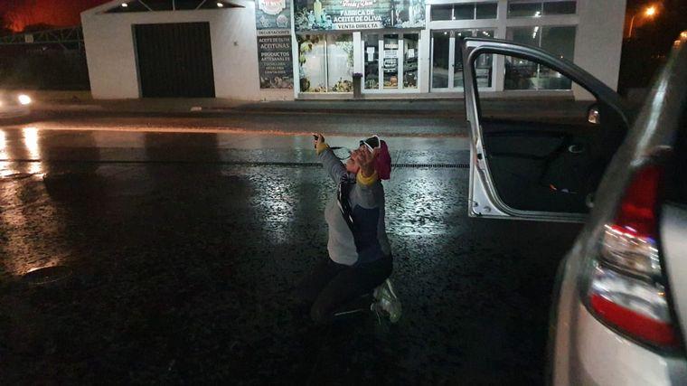 Alivio en las sierras: tras la lluvia, no hay focos activos