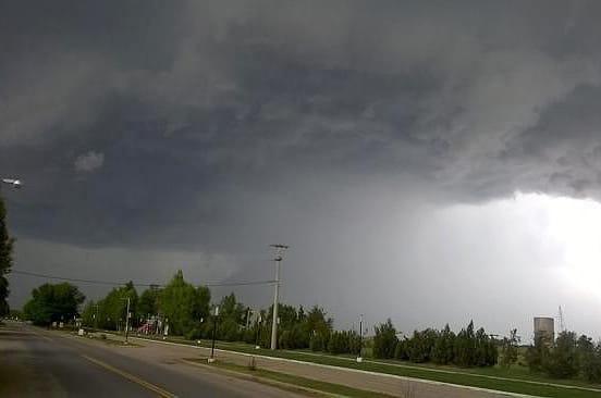 Alerta: tormentas en las proximas horas con probable caída de granizo en Punilla