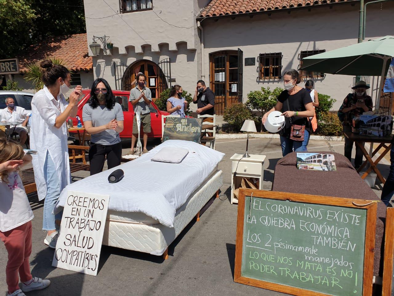 Gastronómicos suspenden las protestas, pero recurrirán a la Justicia si se extienden las restricciones