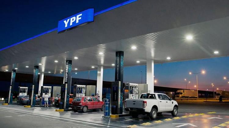 YPF aumentó la nafta y el gasoil un 7% promedio en el país