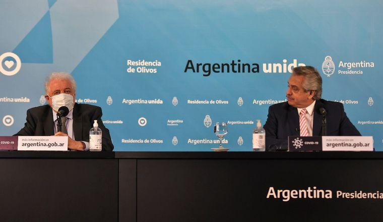 Alberto Fernandez : «Yo voy a ser el primero en vacunarme»
