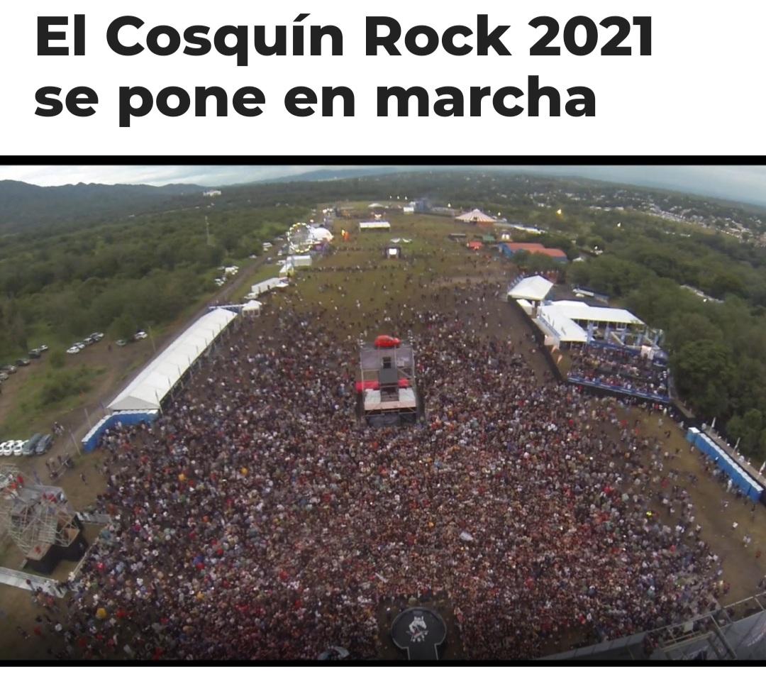 Se viene el cosquin rock 2021 ?