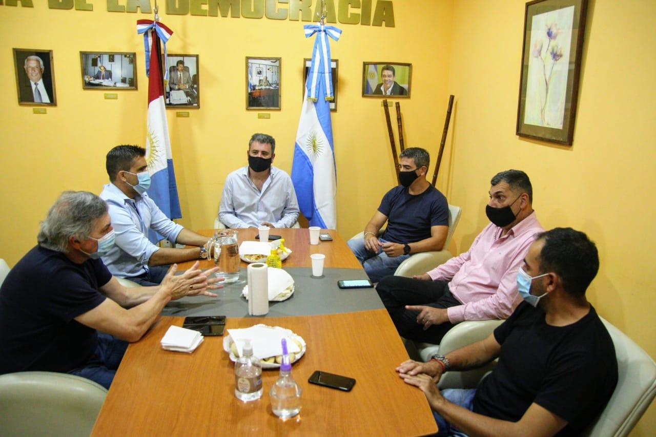 La Falda recibió al Ministro de Gobierno y de Desarrollo de la Provincia