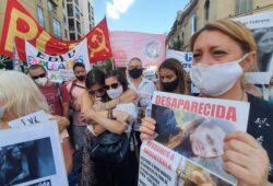 Marchan para pedir por la aparición de Ivana Módica