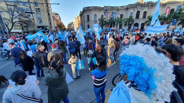 #25M :Protestas en todo el país contra el Gobierno nacional